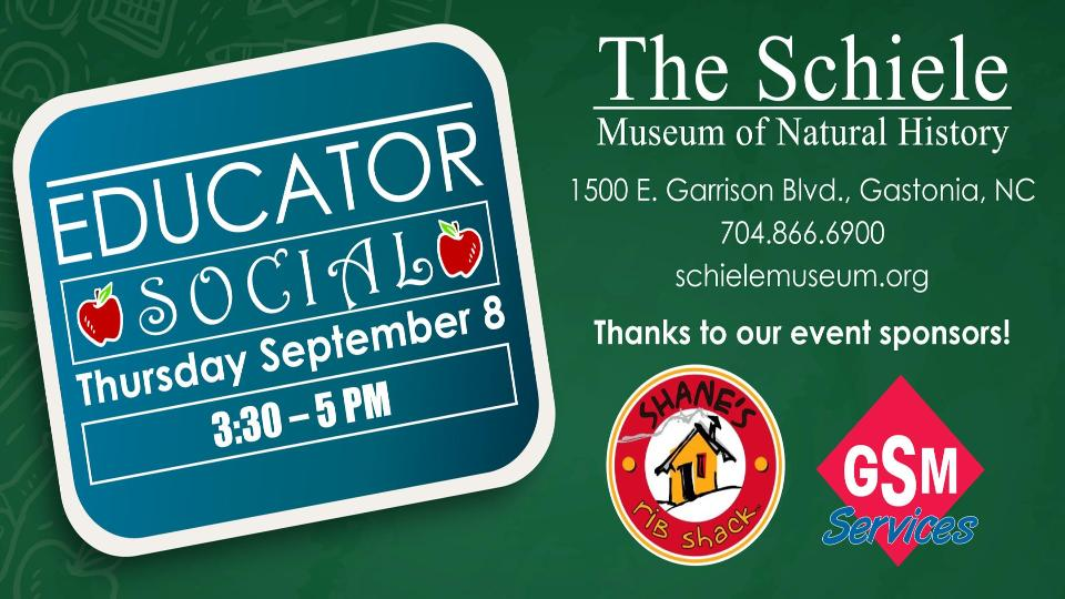Free food & prizes for teachers at an exclusive event on Thursday, Sept. 8th!