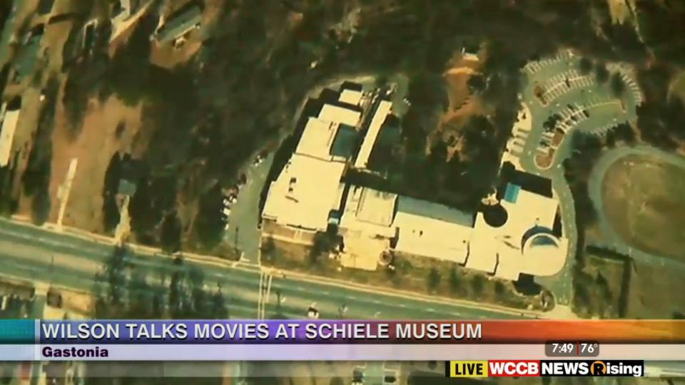 Wilson's World features The Schiele Museum on WCCB News Rising