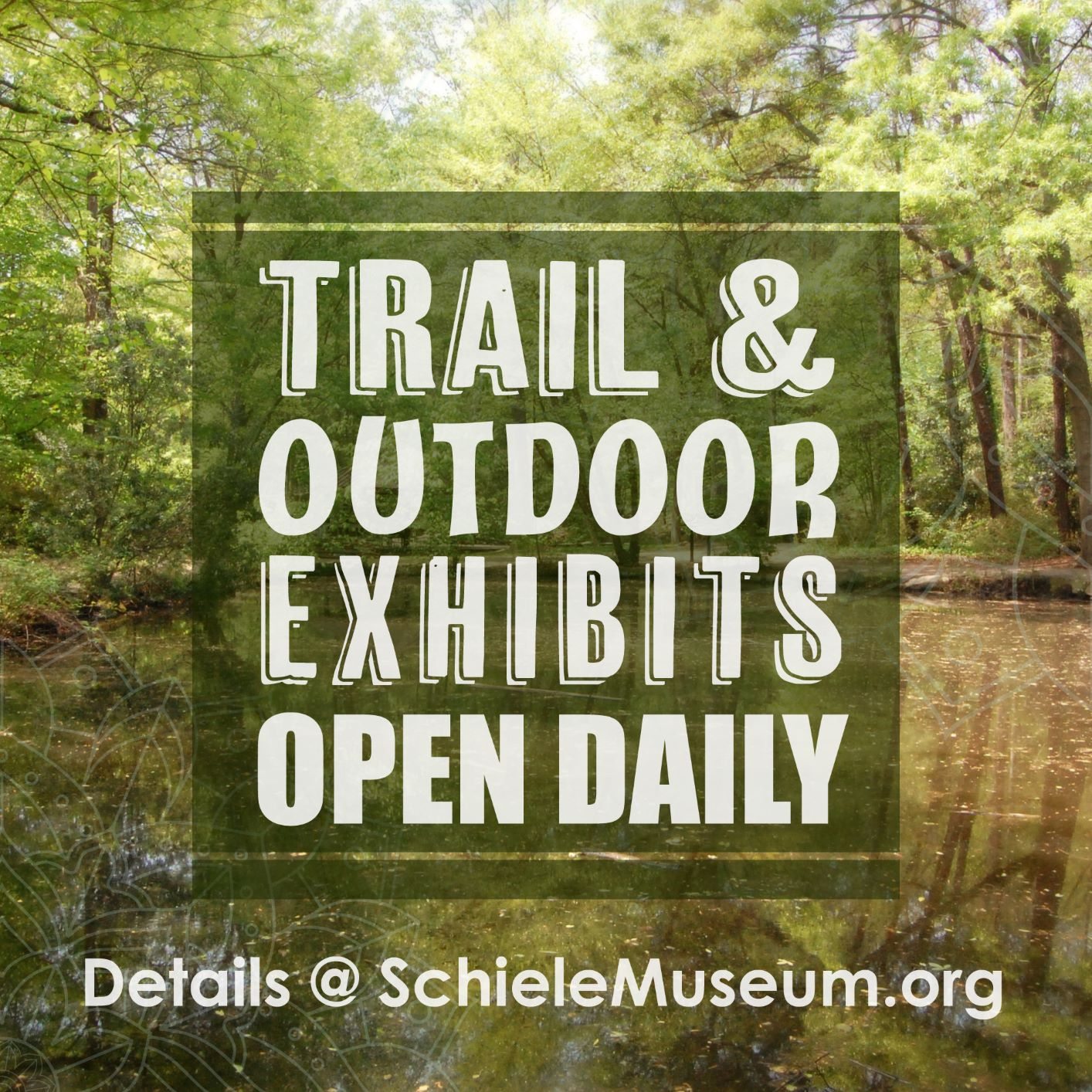 Nature Trail & Outdoor Exhibits